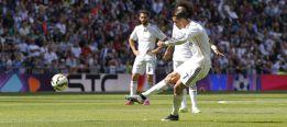 Cristiano marcó un gol de falta tras 56 lanzamientos fallidos