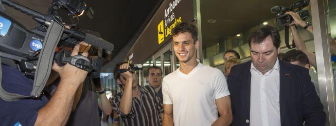 Rodrigo Caio está en Valencia
