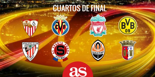 Sorteo champions y europa league cuartos de final 2016 for Cuartos de final champions