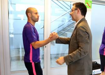 La dos razones de Mascherano para querer dejar el Barça