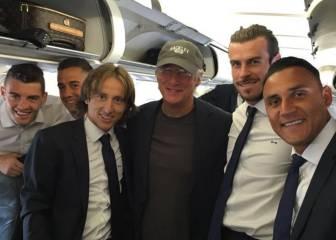 El Real Madrid viajó hacia Milán... ¡con Richard Gere!