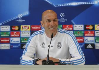 Zidane: 'Lo que hay que hacer es correr, correr y correr...'