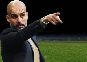 Estos serían los ocho titulares que ha pedido Guardiola