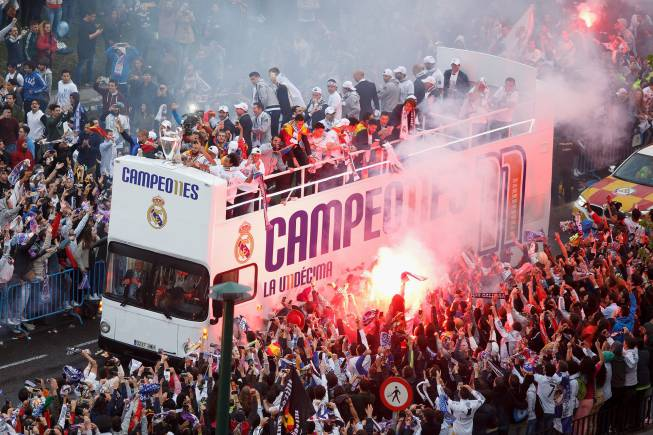 celebracion especial madrid: