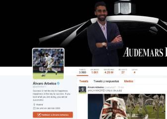 Polémico mensaje de Arbeloa: '¡Hala Madrid! (hijos de puta)'
