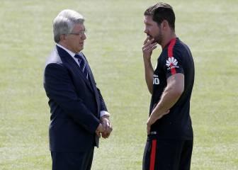 Simeone pone condiciones para quedarse: quiere fichajes top