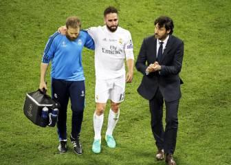 Carvajal se pierde la Euro y Del Bosque cuenta con Bellerín