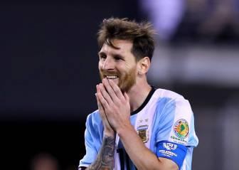 Messi anuncia su adiós a la selección argentina