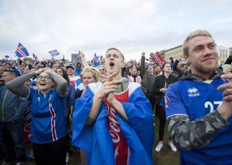Almost 100% audience share in Iceland for England humbling