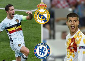 Chelsea want €50m for Morata-Hazard switch