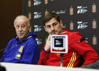 Del Bosque recalls 'frosty' relationship with Iker