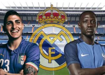 El Madrid activa el plan B por si falla Pogba: Sissoko y Verratti