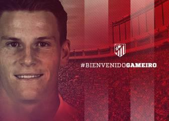 El Atlético anuncia el fichaje de Gameiro por cuatro temporadas