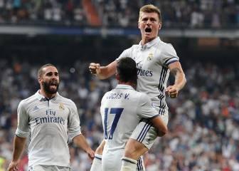 El Madrid salva un mal trago