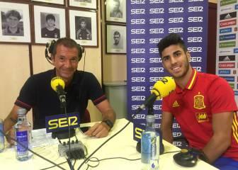 Asensio: 'Ahora no me pondría la camiseta del Barça'