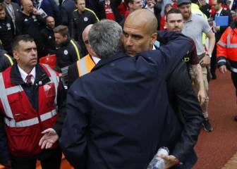 Pep Guardiola jumps to the defence of under-fire Mourinho