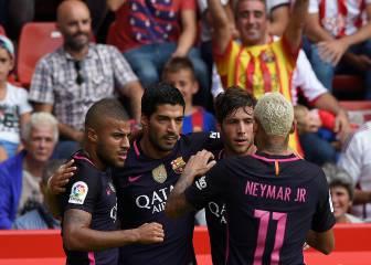 El Barça se divierte sin Messi