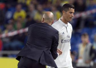 Fans back Zidane in Cristiano substitution