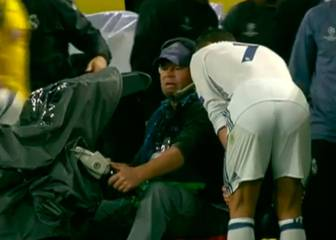 Cristiano pidió ver la repetición de su gol anulado a un cámara