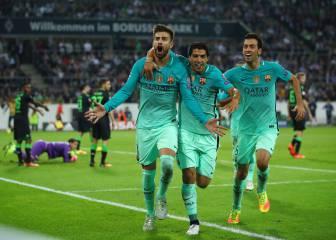 El Barça rectifica a tiempo