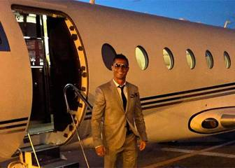 Cristiano's plane crash lands in Barcelona accident