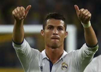 Champions: Cristiano, segundo mejor jugador de la semana