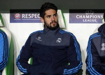 Isco is Real Madrid's forgotten man under Zinedine Zidane