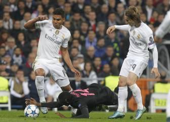 El Real Madrid, sin dos puntales: Casemiro y ahora Modric