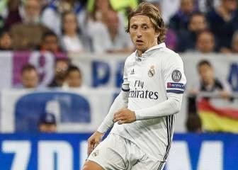 Parte médico de Modric: lesión condral en la rodilla izquierda