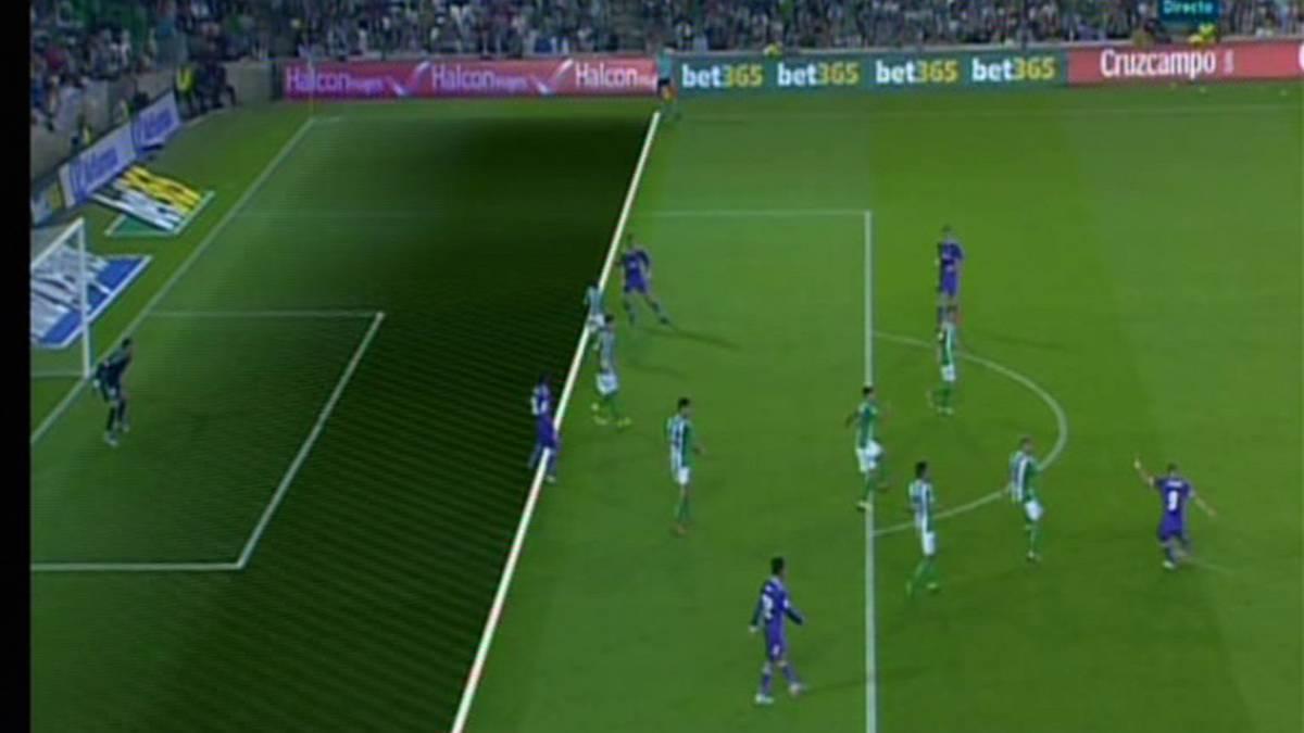 Marcelo estaba en fuera de juego en el tercer gol del for En fuera de juego