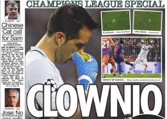 Inglaterra critica a Guardiola y se ceba con Bravo: 'Payaso'