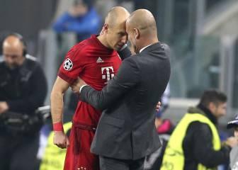 Robben: 'Guardiola está poseído, con Ancelotti hay más libertad'