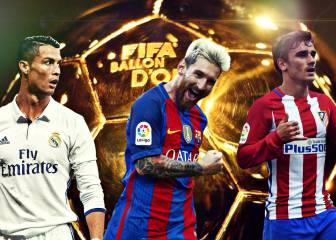 Balón de Oro: las razones de los tres favoritos para ganarlo