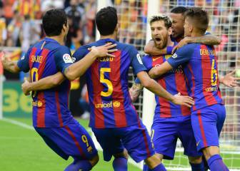 Messi incendia Mestalla