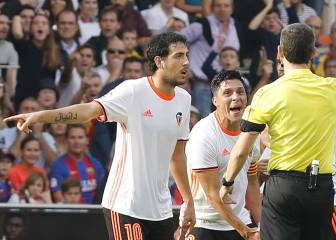 Valencia captain slams Neymar conduct: 'You can't incite people'