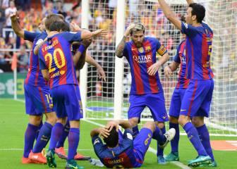 Competición califica de 'ridícula' la actitud de los jugadores del Barça en Mestalla