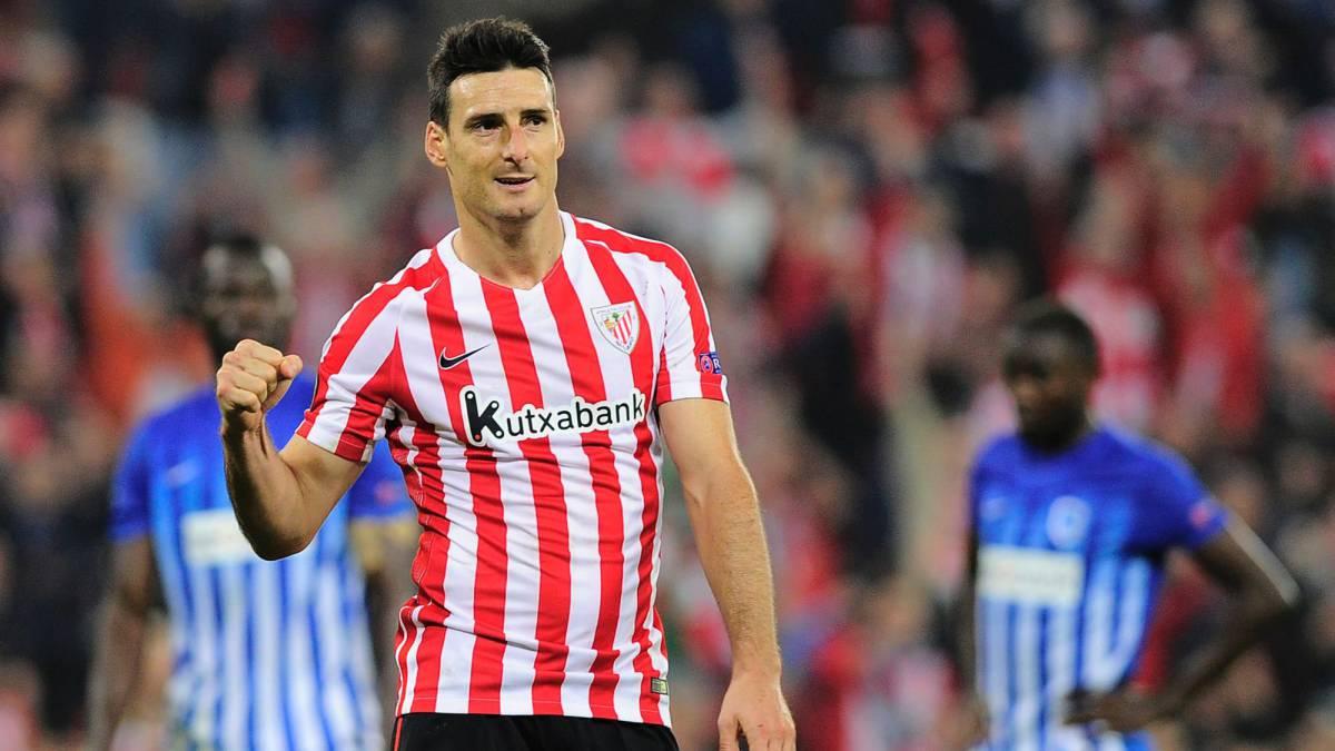 Athletic La noche inolvidable de Aritz Aduriz cinco goles y padre
