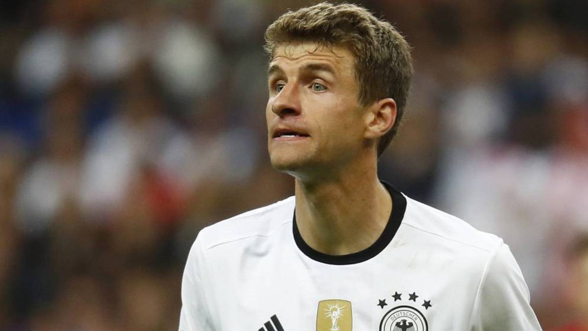 Thomas Müller criticises Fifa for risky San Marino Germany game