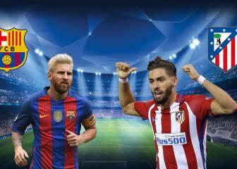 Atleti y Barça evitan 'cenicientas' y se la jugarían con dos 'cocos'