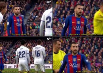 Jordi Alba a Kovacic: 'Aprende a hablar español, tonto'