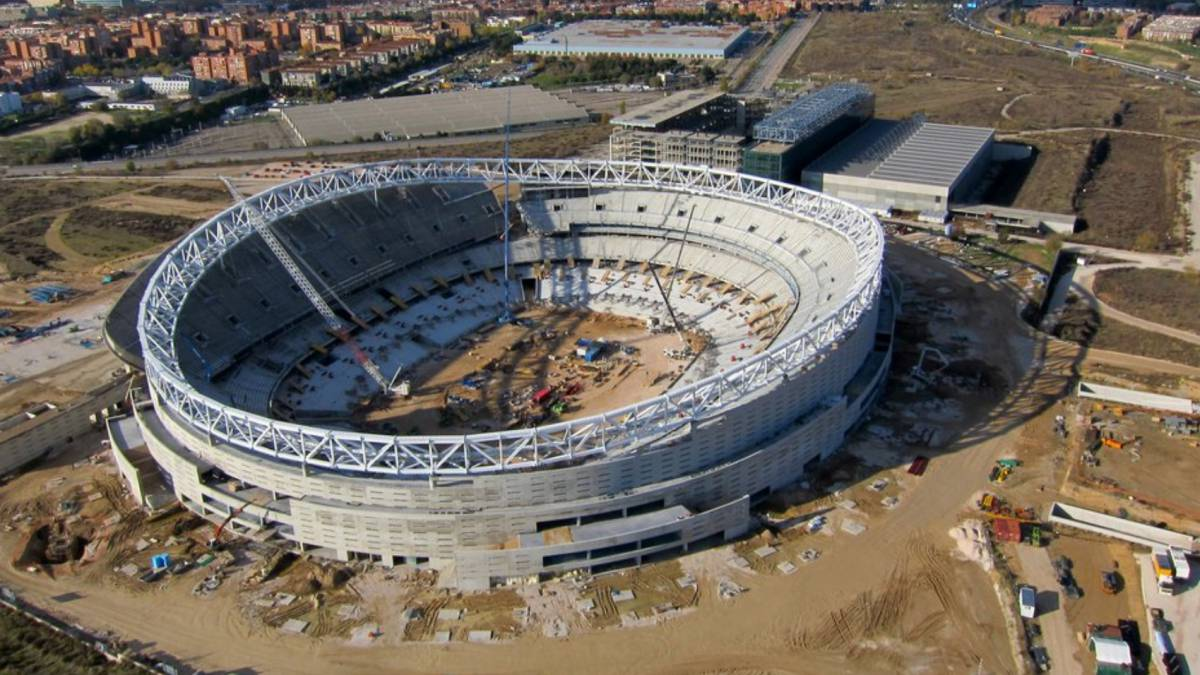 El Atlético de Madrid bautizará hoy al fin su nuevo estadio - AS.com