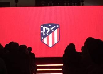El Atlético cambia su escudo