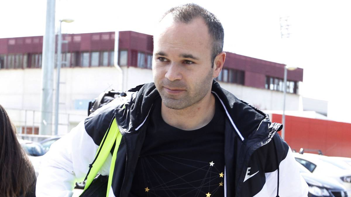 Iniesta: U201cI Have No Objection To The Ballon Du0027Or..u201d