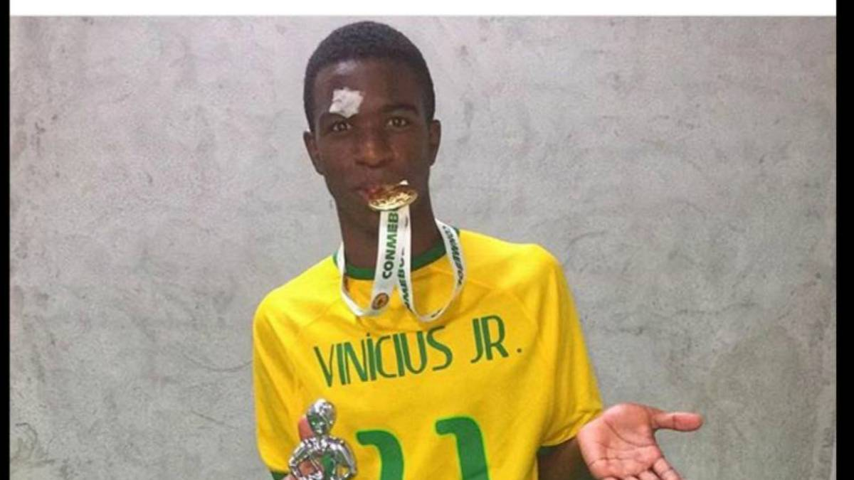 Vinicius Junior, el nuevo Neymar por el que suspira media Europa - AS.com