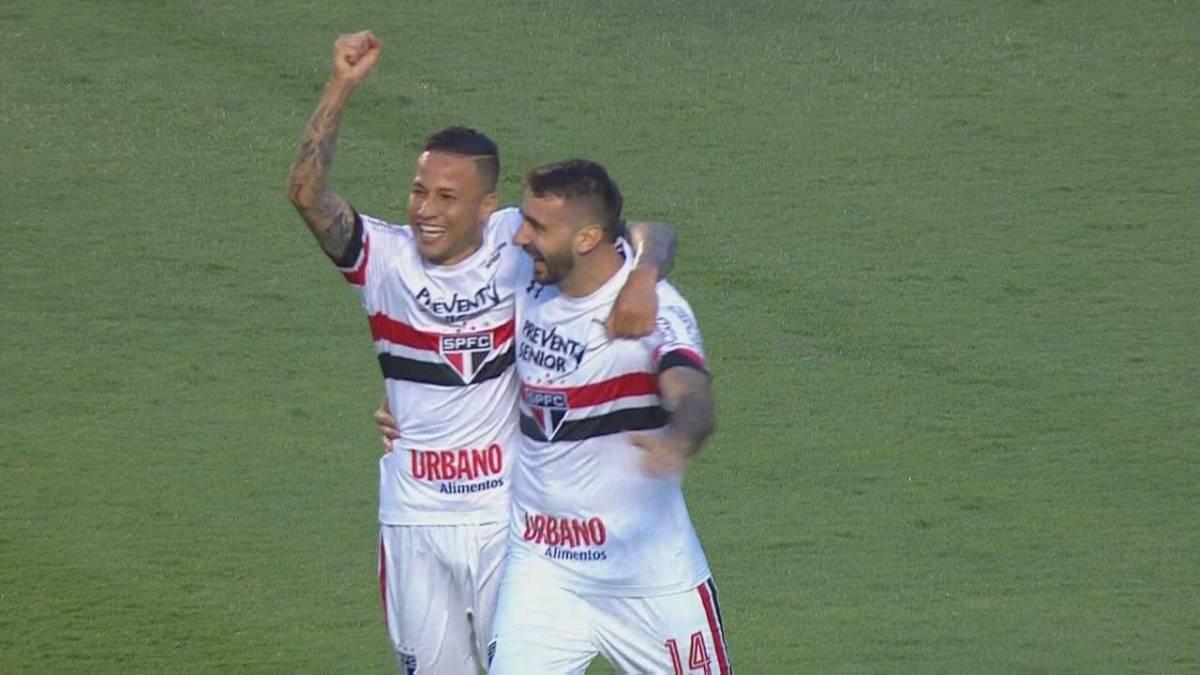 Pratto marca a los nueve minutos de debutar con Sao Paulo ...
