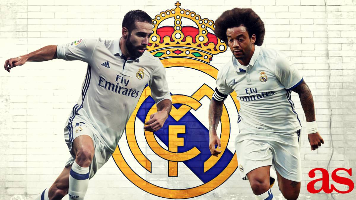 Carvajal and Marcelo add 18 goals to Real Madrid in 2016 17 AS