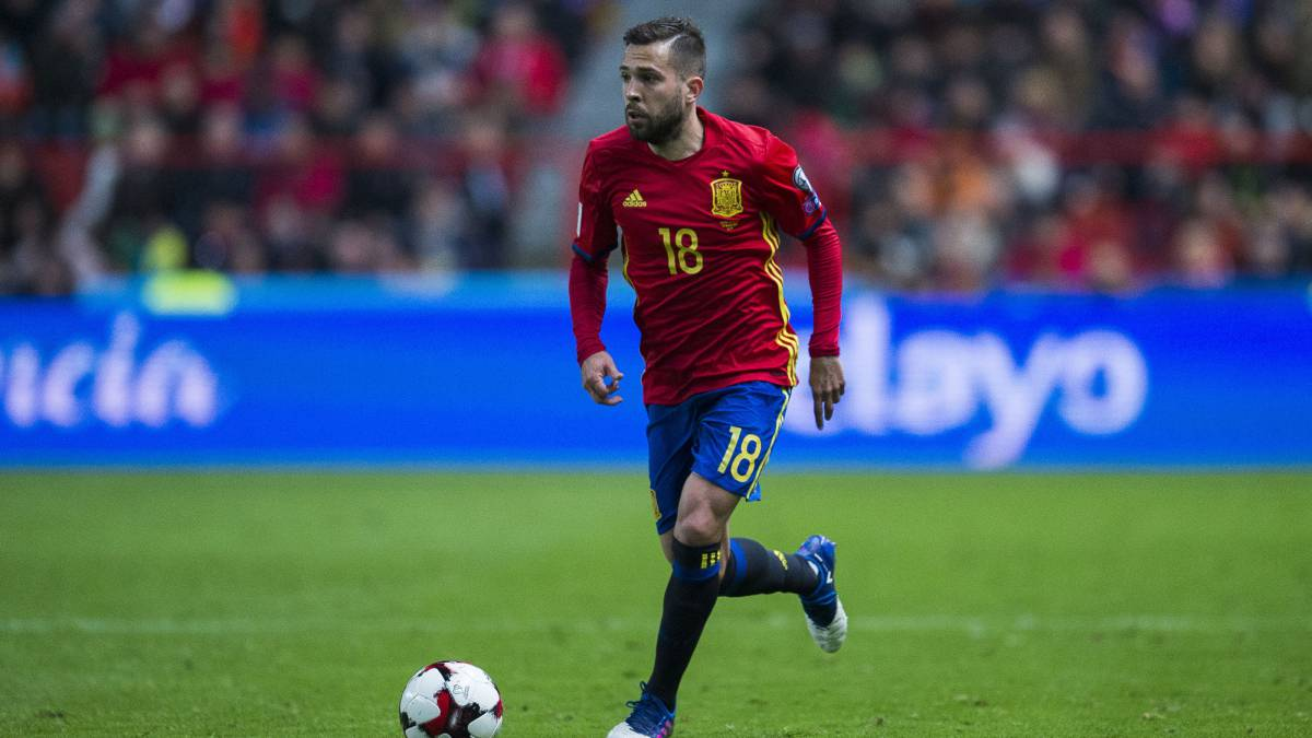 Jordi Alba grateful for Lopetegui s faith AS