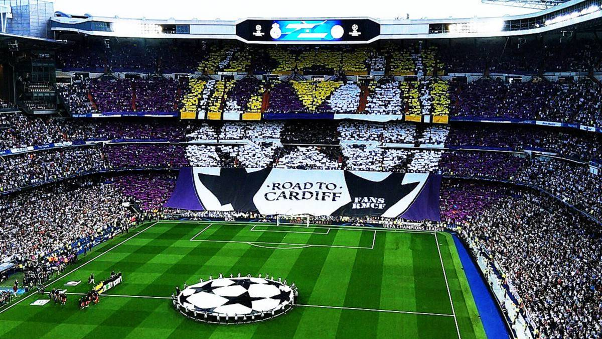 Champions League Real Madrid 4 Bayern 2 Supermosaico Y