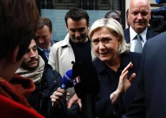 """Marine Le Pen ataca a Zidane: """"Con lo que gana, no me extraña que vote a Macron"""""""
