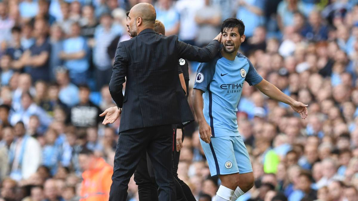 Manchester City Nolito suggests he could leave in summer AS